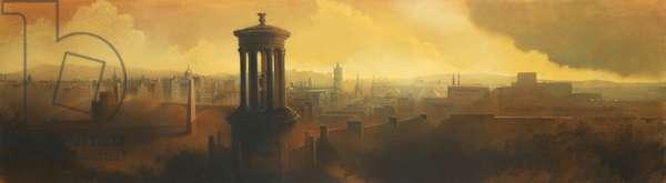 Edinburgh, 2000 (oil on canvas)