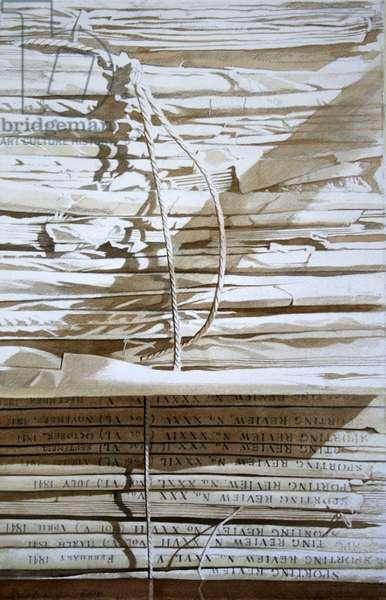 Sporting Life, Traquair (w/c on paper)