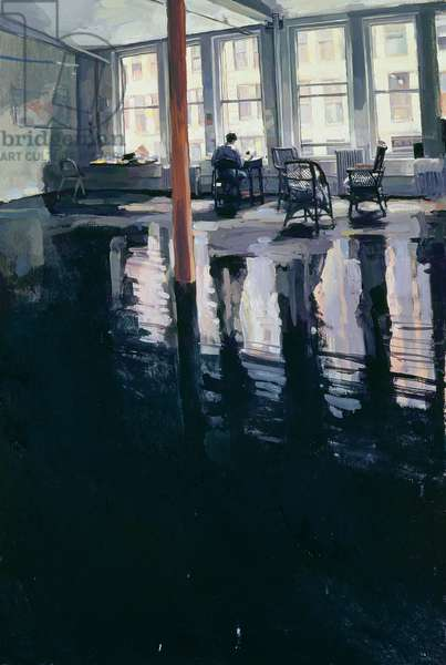Loft in SoHo, 1989 (oil on canvas)