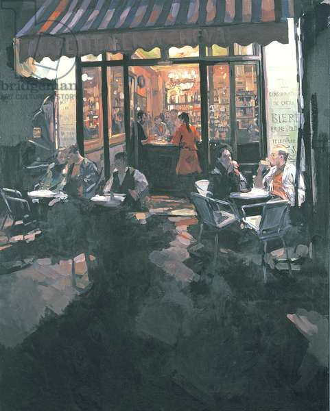 Fer a Cheval Bar, 1986 (oil on canvas)