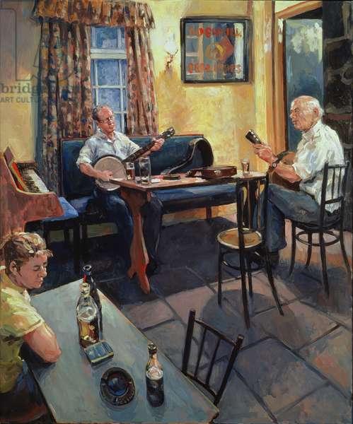 The Skerry Inn, 2002 (oil on canvas)