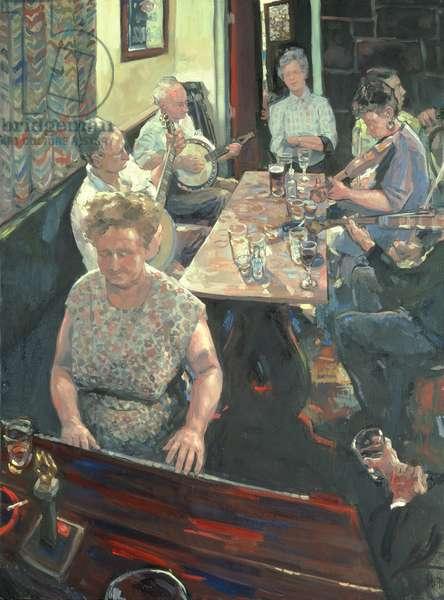 Skerry Inn, 1995 (oil on canvas)