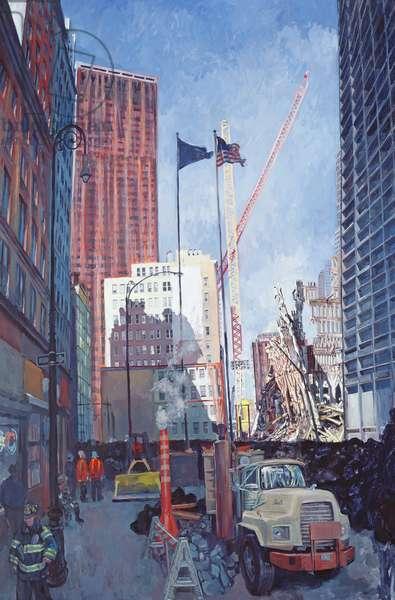 Ground Zero II, 2002 (oil on canvas)