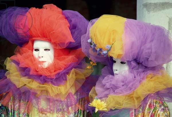 Venice Carnival Costumes, 1994 (photo)