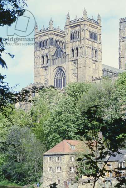 West towers of Durham Cathedral, c.1093 (photo)