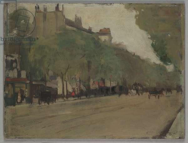 Spring in Paris, 1903 (oil on panel)