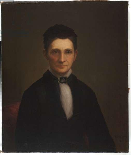 Mrs. Benjamin Davis Wilson, 1881 (oil on canvas)
