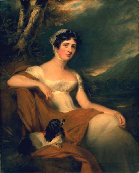 Hon. Emma Cunliffe, later Emma Cunliffe-Offley, c.1809-30 (oil on canvas)