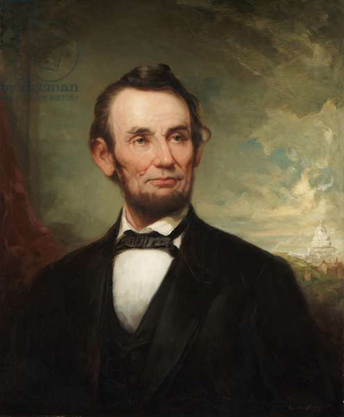 Abraham Lincoln (oil on canvas)
