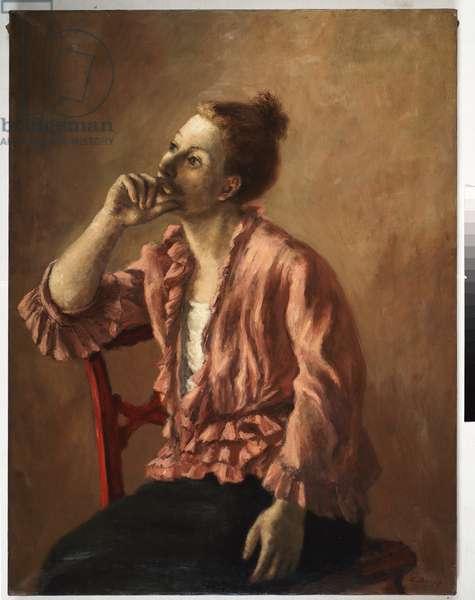 Sentimental Ideas (oil on canvas)