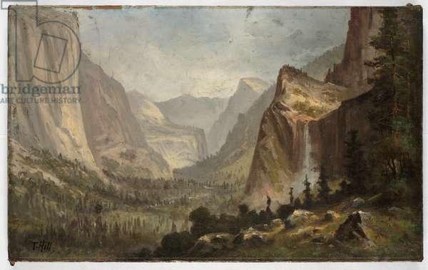Yosemite (oil on canvas)