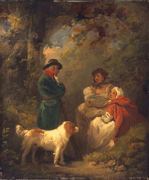 The Lucky Sportsman, 1792 (oil on panel)