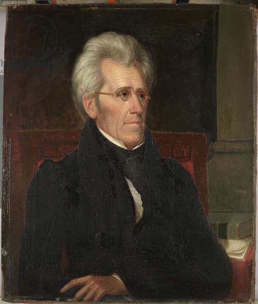 Andrew Jackson, c.1830 (oil on canvas)