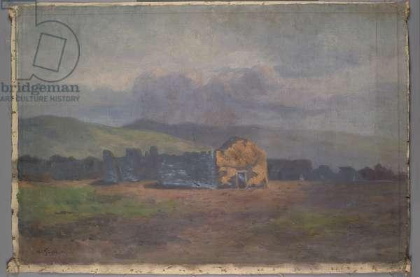 Soledad Mission, c.1885-95 (oil on canvas)