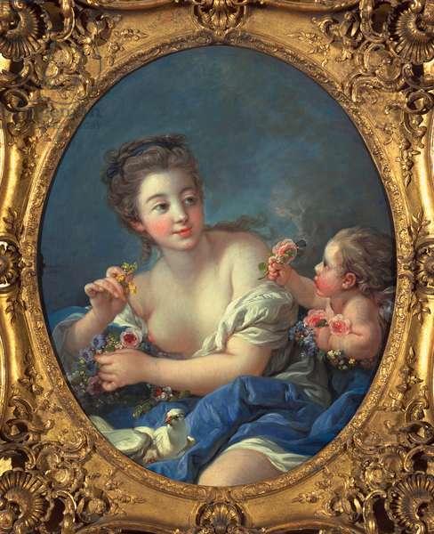 Venus and Cupid, 1769 (oil on canvas)