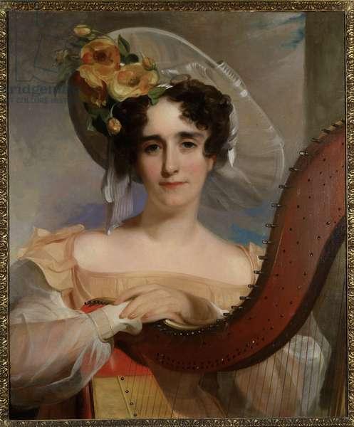 Mademoiselle Ade   Sigoigne, 1829 (oil on canvas)