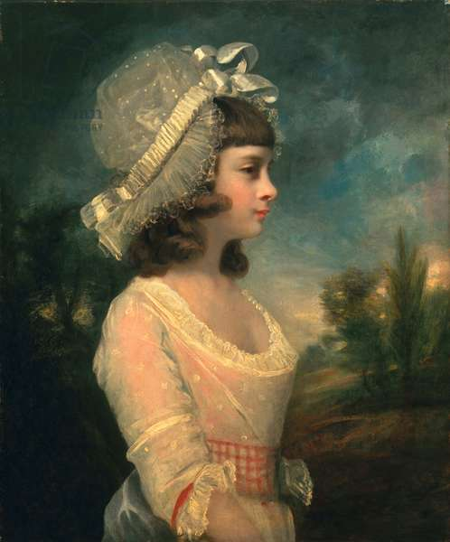 The Hon. Theresa Parker, later the Hon. Theresa Villiers, 1787 (oil on canvas)