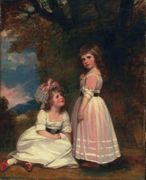 Margaret Beckford, later Margaret Orde, and Susan Euphemia Beckford, later Duchess of Hamilton: The Beckford Children, c.1789-91;