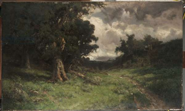 After the Storm, 1899 (oil on canvas)