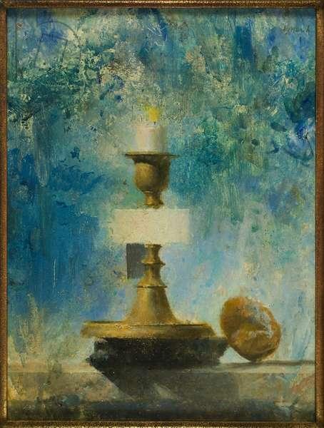 Beacon Still Life, 1943 (oil on canvas board)