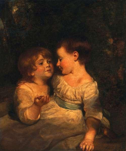 The Vandergucht Children, 1785 (oil on canvas)