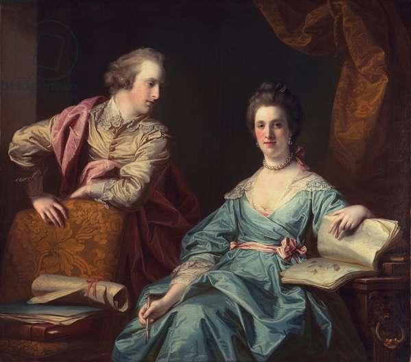 Isabel and Thomas Crathorne, 1767 (oil on canvas)