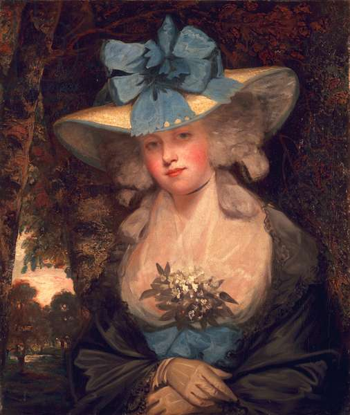 Isabella Seymour Conway, Viscountess Beauchamp, later Marchioness of Hertford, c.1789 (oil on canvas)