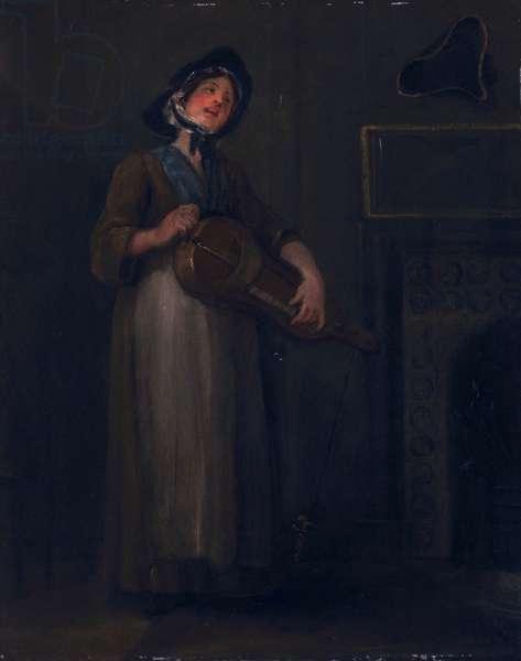 The Savoyard Girl, 1749 (oil on canvas)