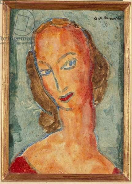 Head, 1926 (oil on panel)
