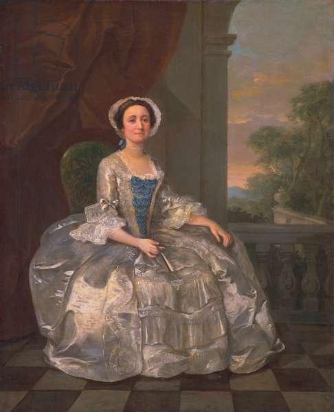 Mary Hoadly, c.1742 (oil on canvas)