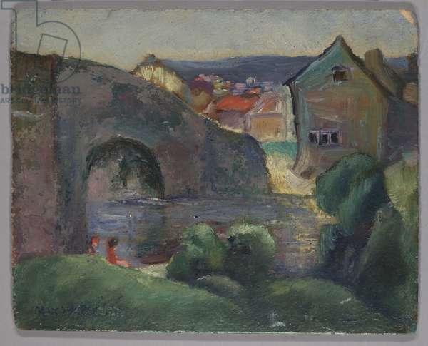 Landscape, 1906 (oil on canvas)