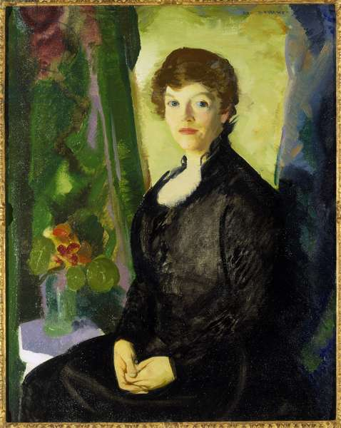 Portrait of Laura, July 1915 (oil on canvas)