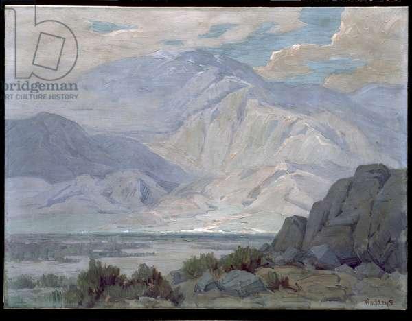 Mt. San Gorgonio (oil on canvas)