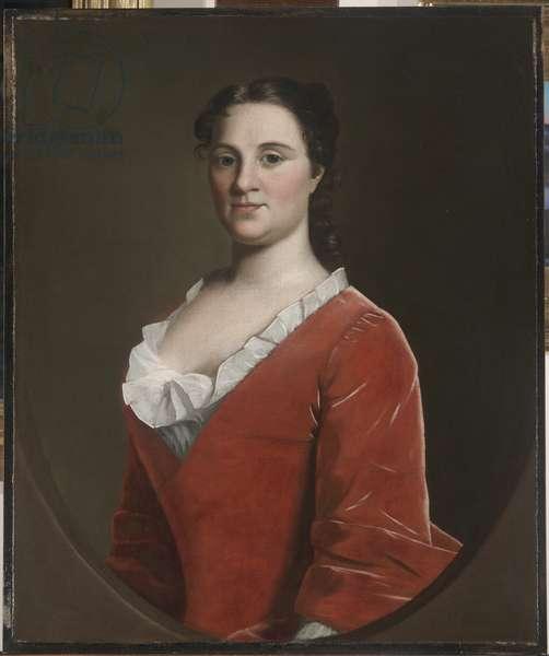 Mrs. Benjamin Lynde, Jr., c.1748 (oil on canvas)