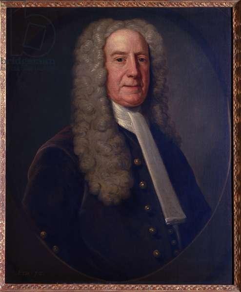 Benjamin Lynde, Sr., 1731 (oil on canvas)