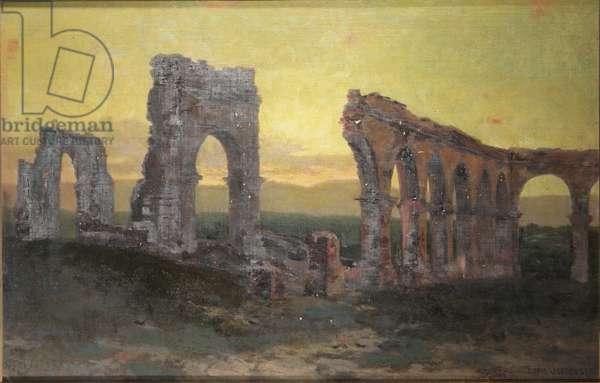 Mission Arcades, c.1885-1932 (oil on canvas)