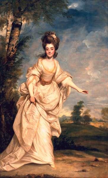 Diana, Viscountess Crosbie, 1777 (oil on canvas)