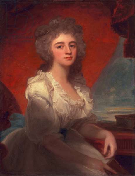 Catherine Burton, 1789 (oil on canvas)