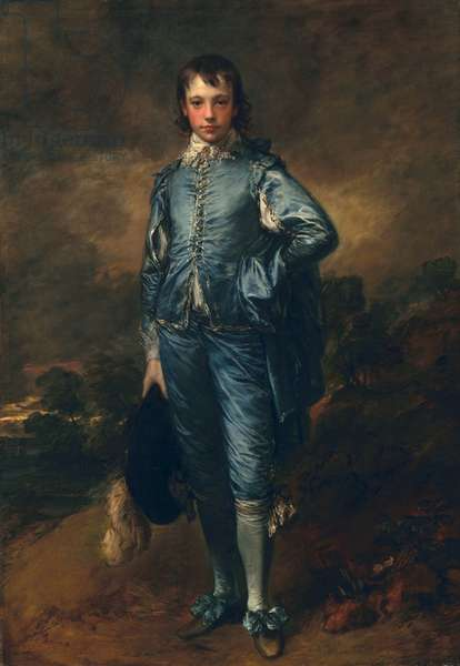 The Blue Boy, c.1770 (oil on canvas)