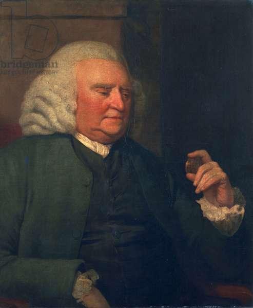 Unknown man, called Samuel Johnson (oil on canvas)