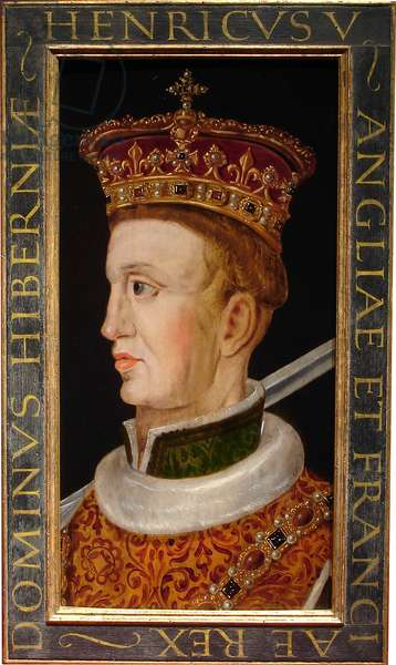 Henry V, c.1610 - 1618 (oil on oak panel)