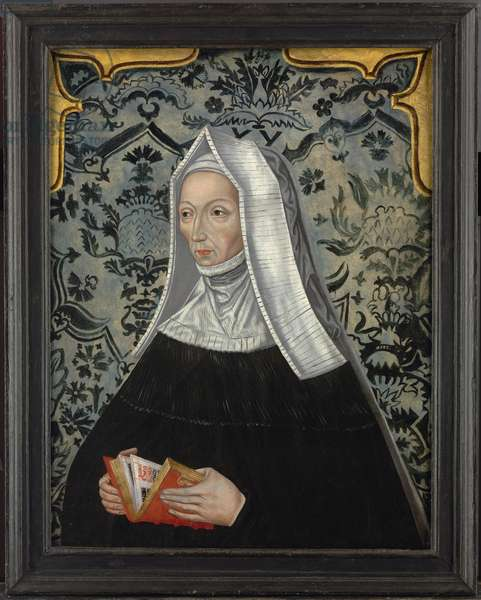 Portrait of Margaret Beaufort (oil on panel)