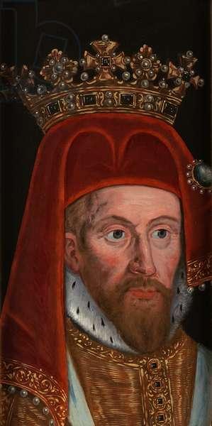 Henry IV, c.1610 - 1618 (oil on oak panel)