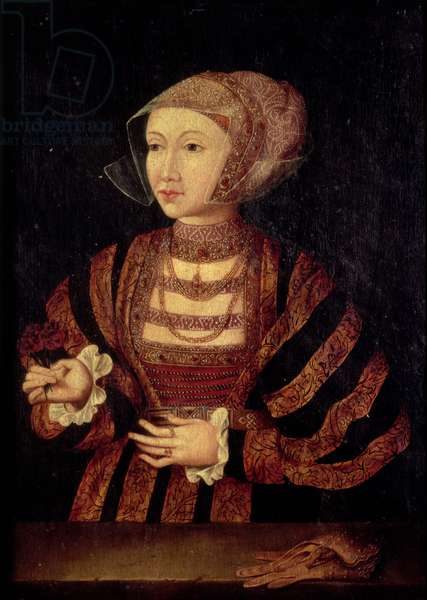 Portrait of Anne of Cleves (1515-57), Fourth wife of Henry VIII of England