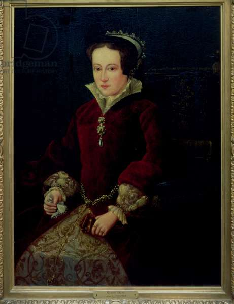 Portrait of Queen Mary I of England