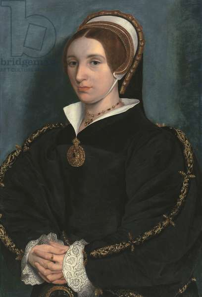 Portrait of a Lady, thought to be Catherine Howard (oil on panel)