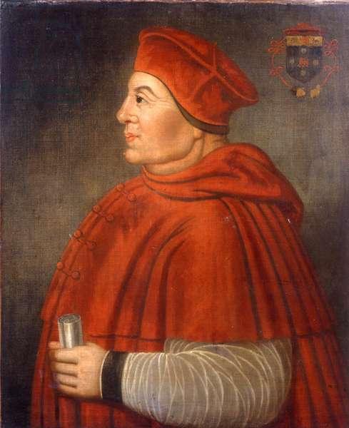Portrait of Thomas Wolsey, Cardinal of York, c.1675 (oil on canvas)