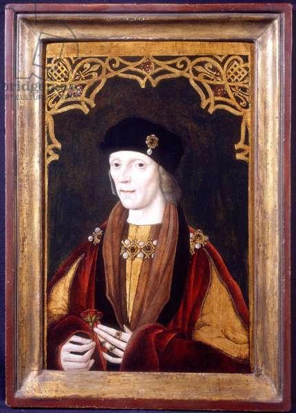 Henry VII, c.1506-1509 (oil on oak panel)
