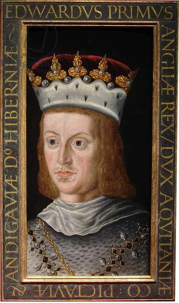 Edward I, c.1610 - 1618 (oil on oak panel)