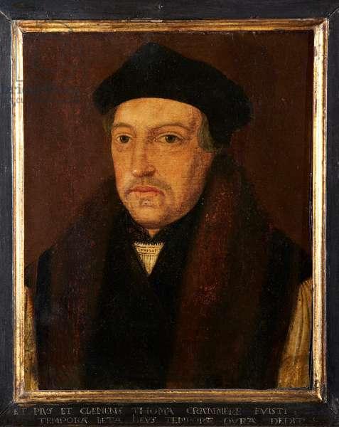 Thomas Cranmer, c.1700 (oil on oak panel)